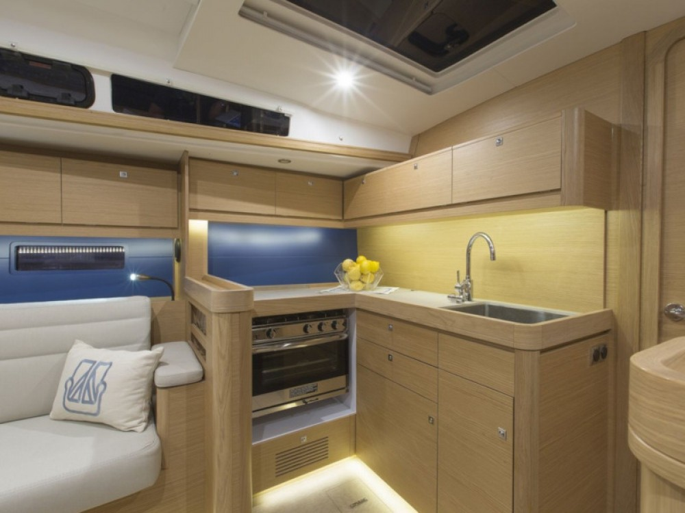 Rent a Dufour Dufour 460 Grand Large (5 cab) Olympic Marina
