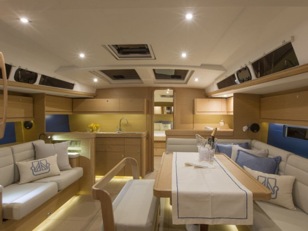 Rental yacht Olympic Marina - Dufour Dufour 460 Grand Large (5 cab) on SamBoat