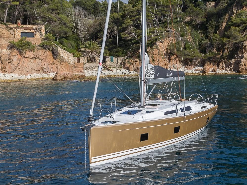 Boat rental Laurium cheap Hanse 418