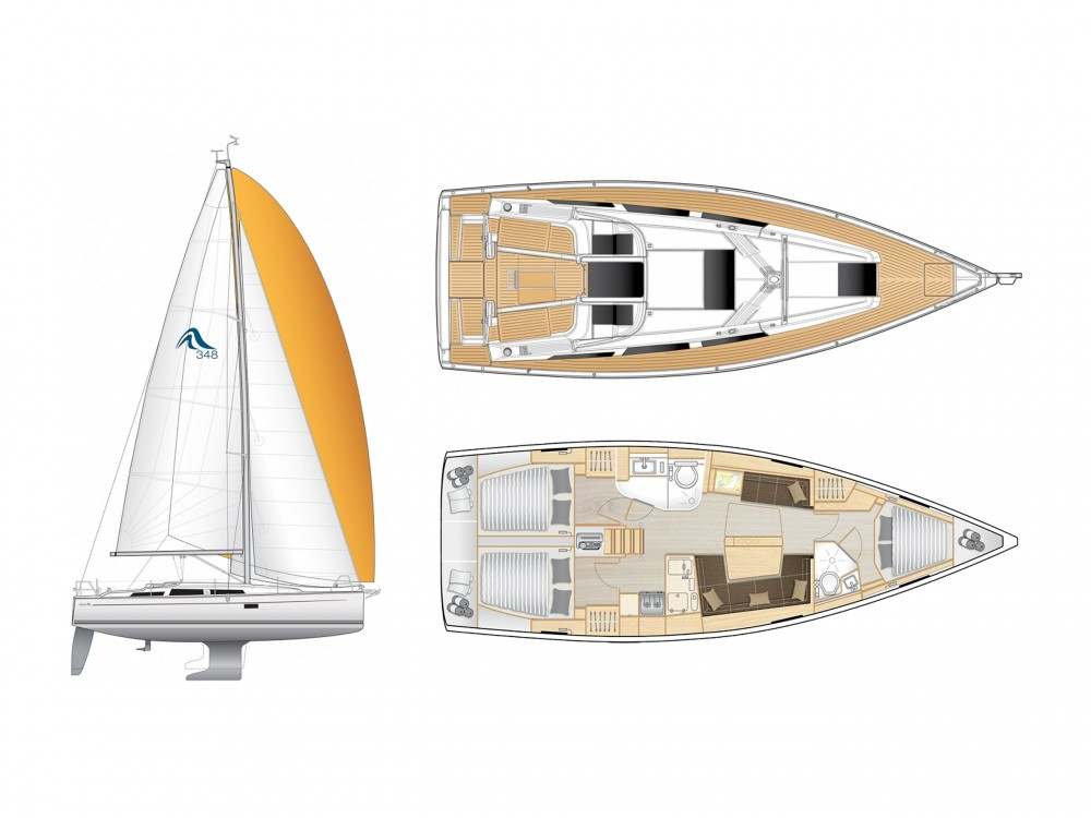 Hanse Hanse 418 between personal and professional Laurium