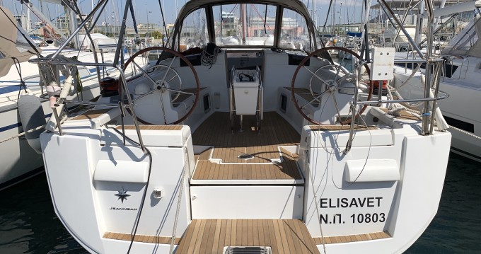 Boat rental Lávrio cheap Sun Odyssey 439