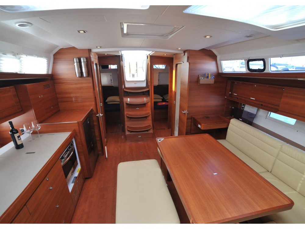 Dufour Dufour 460 Grand Large (5 cab) between personal and professional Préveza