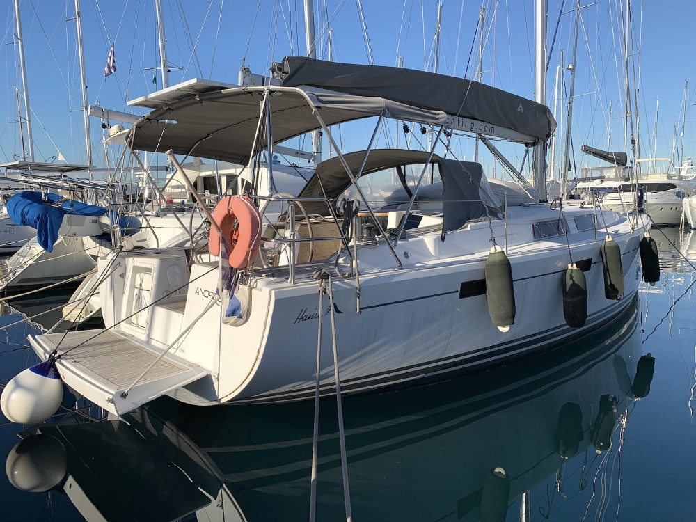 Hanse Hanse 415 between personal and professional