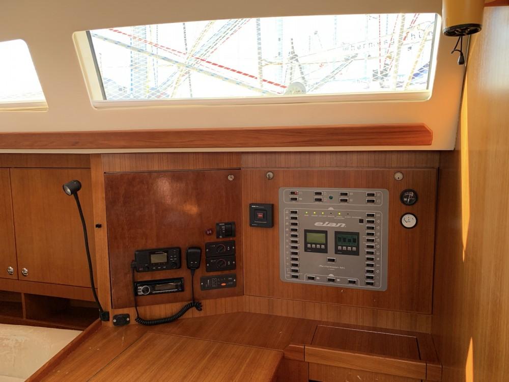 Rental yacht Olympic Marina - Elan Elan 514 Impression on SamBoat