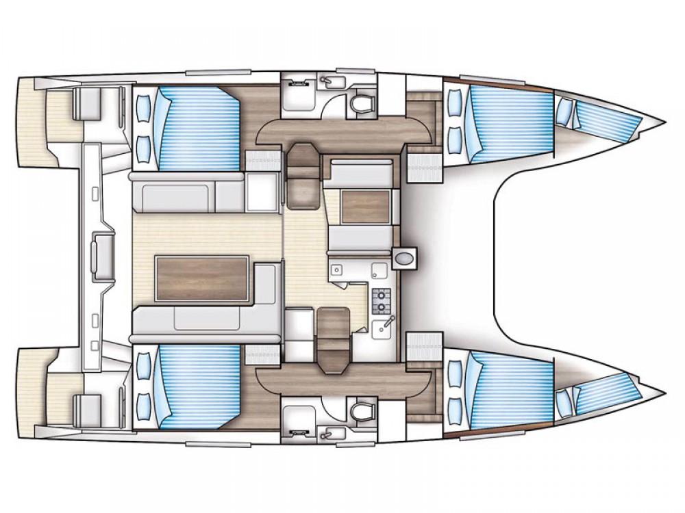 Rental Catamaran in Álimos - Nautitech Nautitech Open 40
