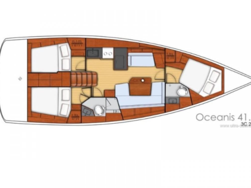 Boat rental Cos cheap Oceanis 41.1