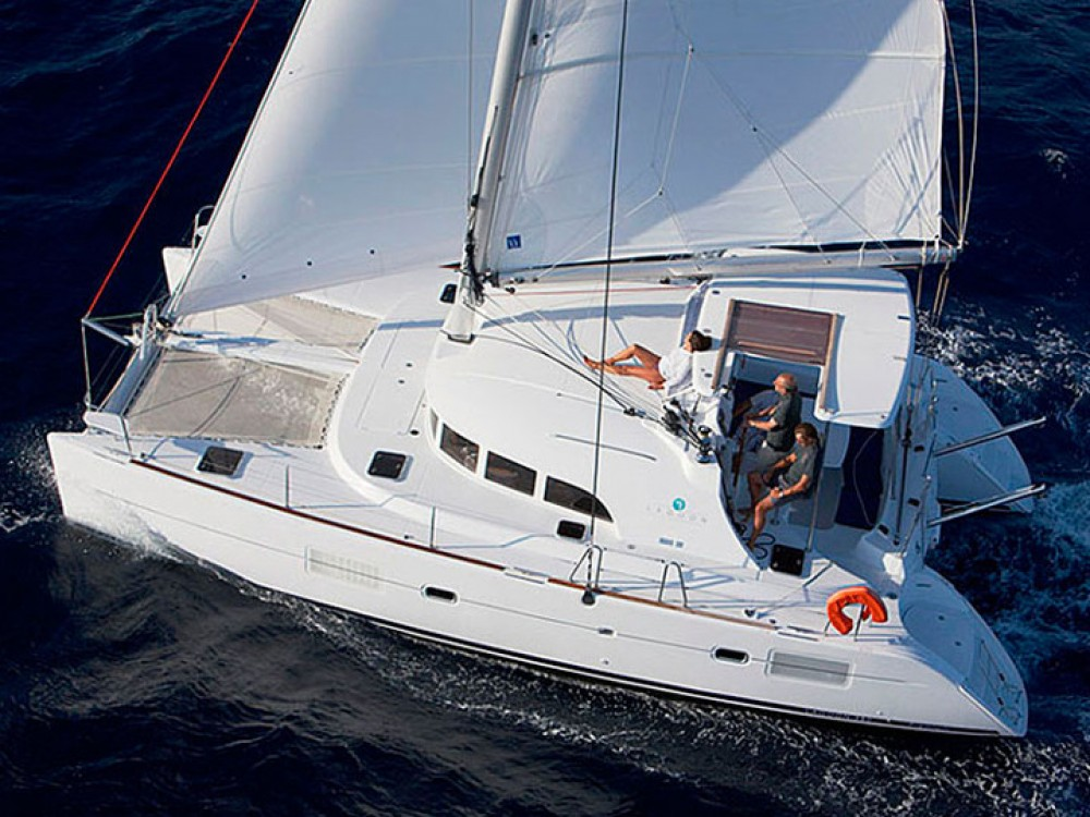 Hire Catamaran with or without skipper Lagoon Kos