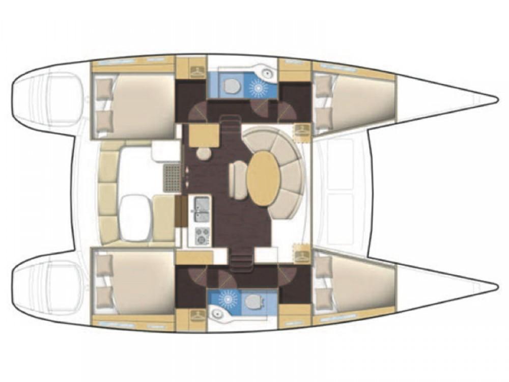 Rental Catamaran in Sochi - Lagoon Lagoon 380