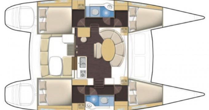 Rental yacht Kos - Lagoon Lagoon 380 on SamBoat