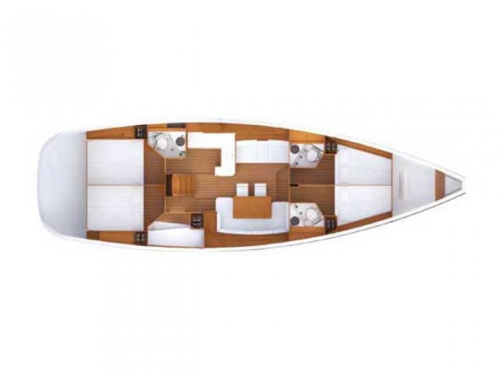 Rental yacht Sochi - Jeanneau Jeanneau 53 on SamBoat