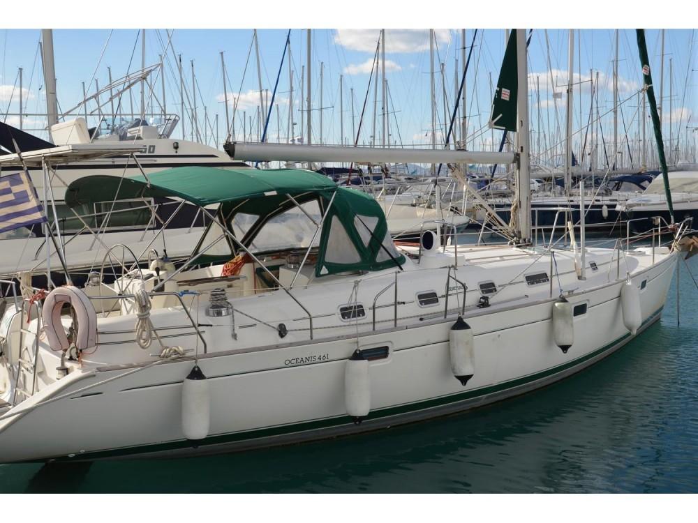 Boat rental Alimos Marina cheap Oceanis 461