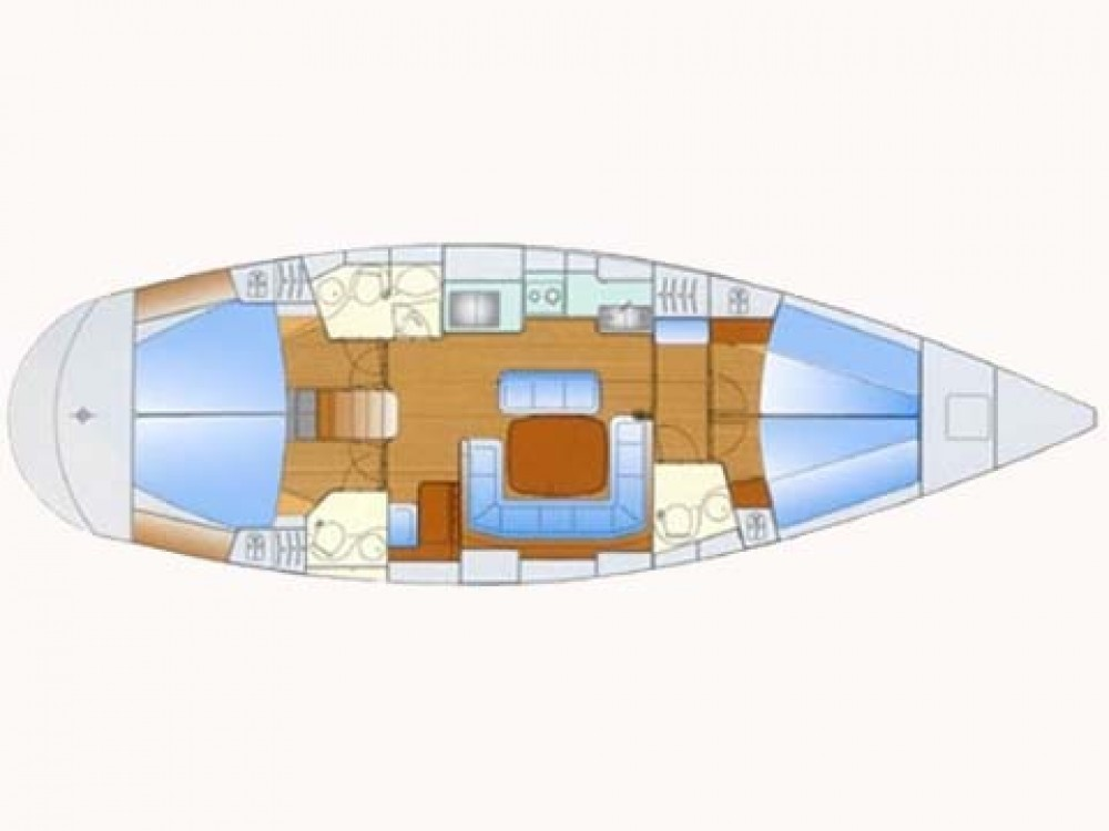 Sailboat for rent Grecia at the best price