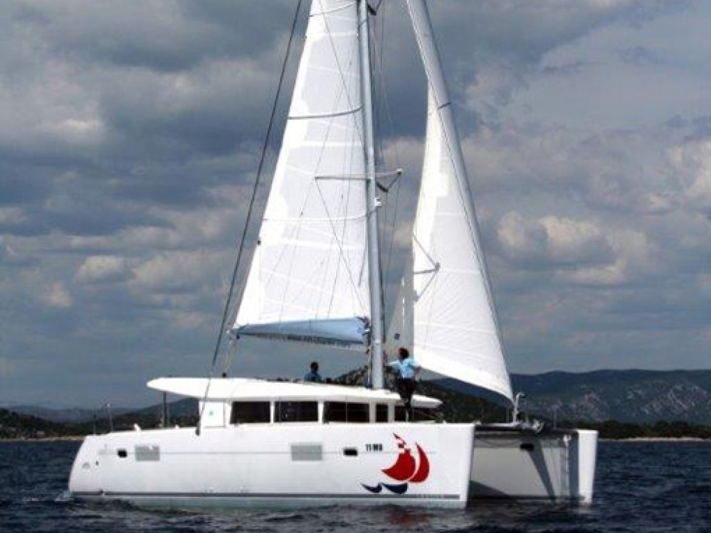 Rental yacht Ródos - Lagoon Lagoon 400 on SamBoat