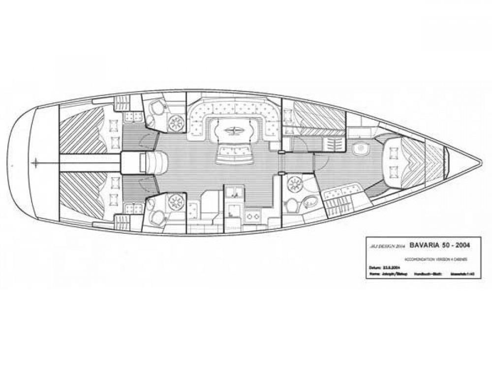 Rental yacht Sochi - Bavaria Bavaria 50-4 CBS Cruiser on SamBoat