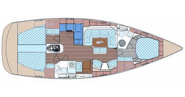 Boat rental Bavaria Bavaria 44 Vision in Kos on Samboat