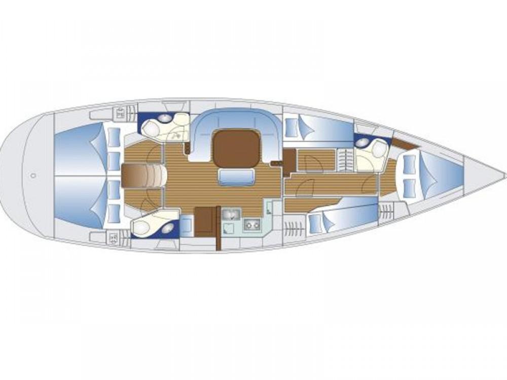 Boat rental  cheap Bavaria 49