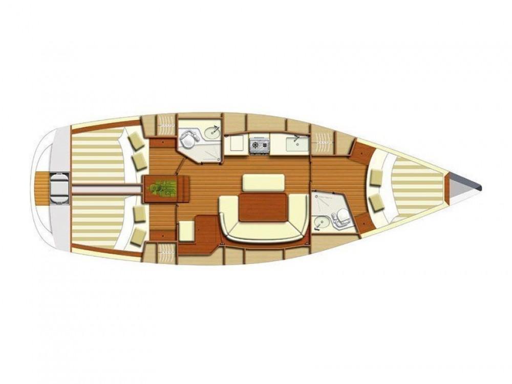 Rental yacht Alimos Marina - Dufour Dufour 385 on SamBoat