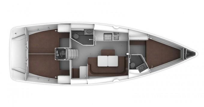 Rental Sailboat in Athens - Bavaria Cruiser 41