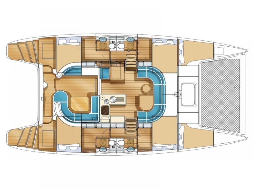 Rental yacht Álimos - Nautitech Nautitech 441 on SamBoat