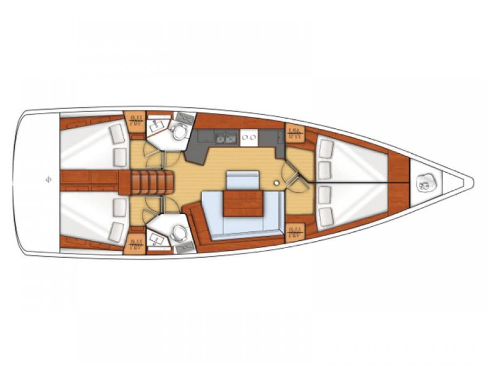 Rental yacht Cos - Bénéteau Oceanis 45 on SamBoat
