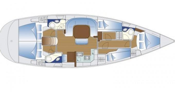 Rental yacht Athens - Bavaria Bavaria 49 on SamBoat
