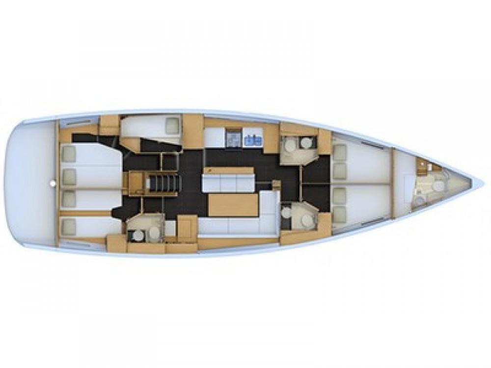 Rental yacht Sochi - Jeanneau Jeanneau 54 on SamBoat