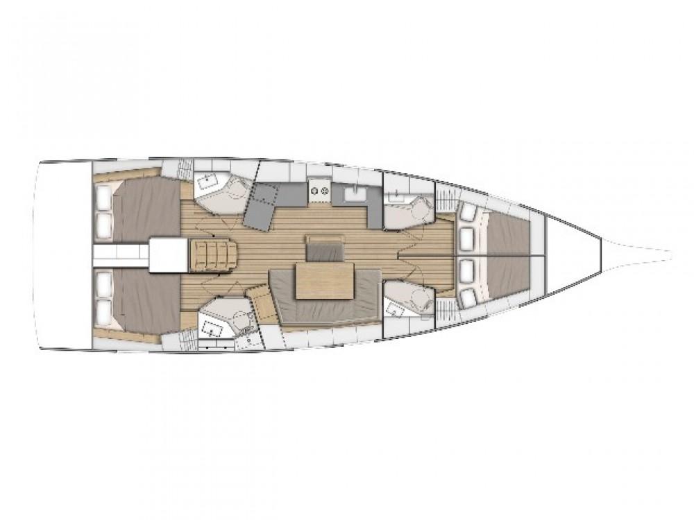 Rental yacht Cos - Bénéteau Oceanis 461 on SamBoat