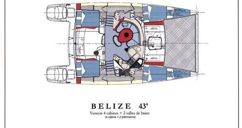 Rent a Fountaine Pajot Belize 43 Lefkada (Island)