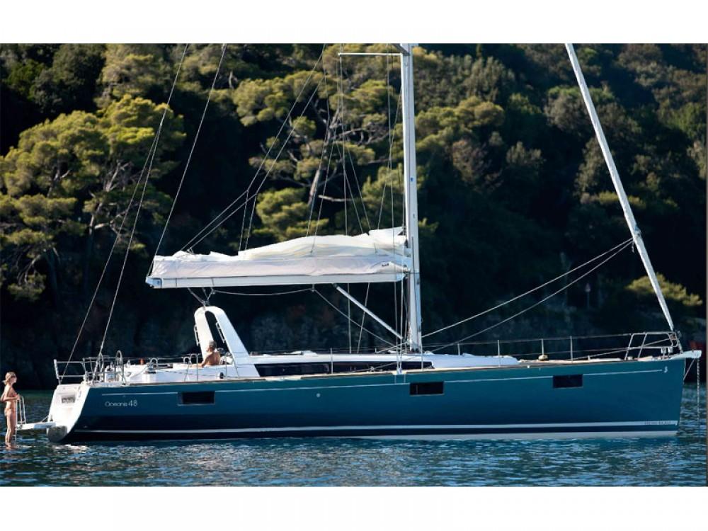 Boat rental Alimos Marina cheap Oceanis 48