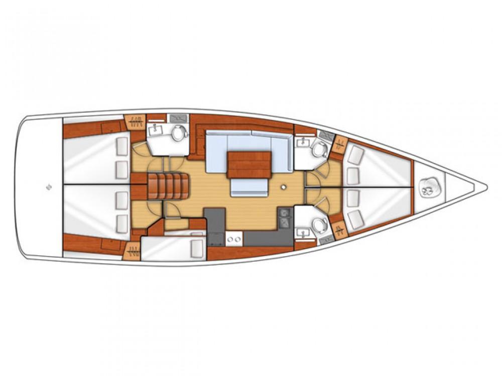 Rental yacht Alimos Marina - Bénéteau Oceanis 48 on SamBoat
