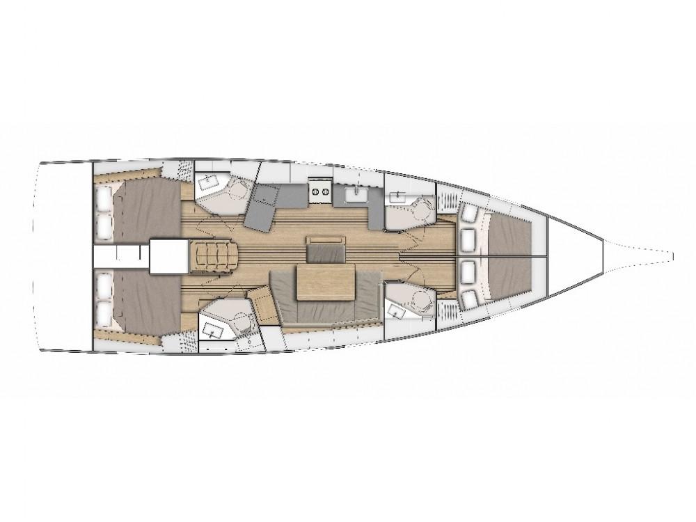 Boat rental Split cheap Oceanis 46.1 -4cab