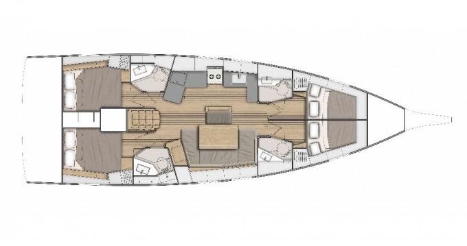 Rental Sailboat in Split - Bénéteau Oceanis 46.1