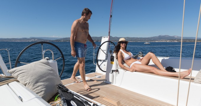 Boat rental Split cheap Oceanis 38.1
