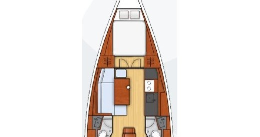 Rental yacht Split - Bénéteau Oceanis 38.1 on SamBoat