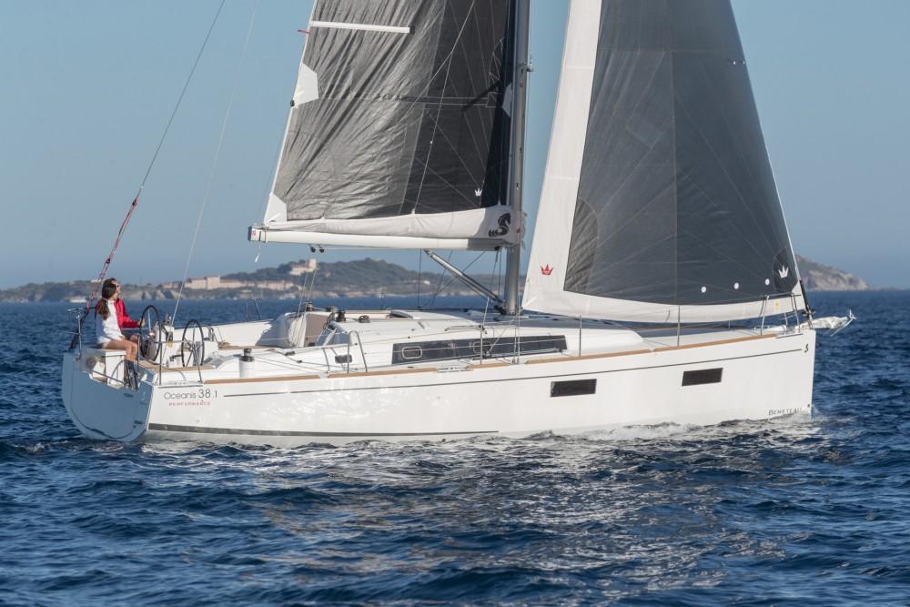 Boat rental ACI Marina Split cheap Oceanis 38.1