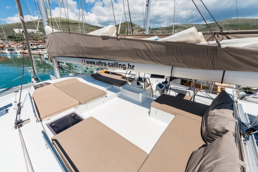 Fountaine Pajot Saona 47 quintet between personal and professional Donji Seget