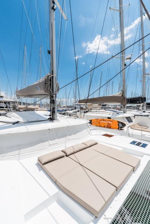 Rental Catamaran in Donji Seget - Fountaine Pajot Saona 47 quintet