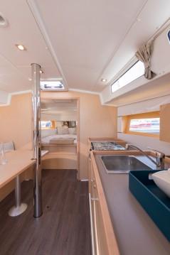 Boat rental Split cheap Oceanis 38.1