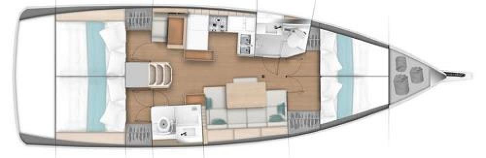 Rental Sailboat in ACI marina Pomer - Jeanneau Sun Odyssey 440