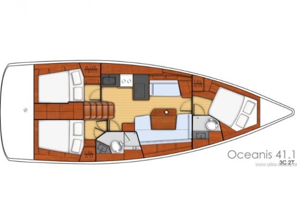 Rental Sailboat in Split - Bénéteau Oceanis 41.1