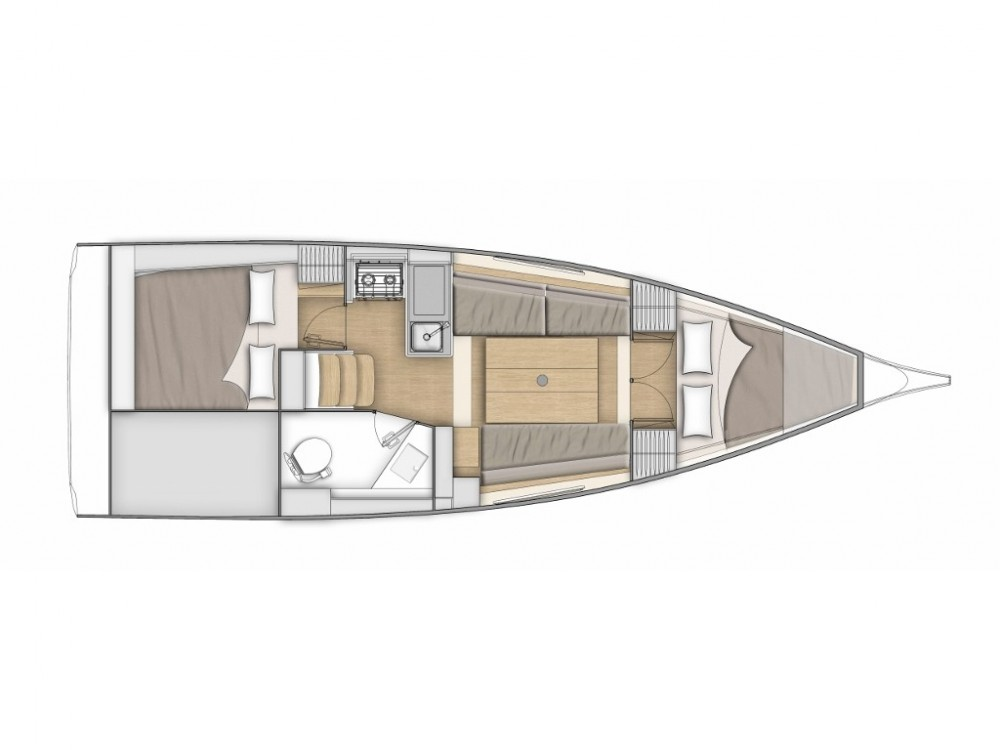 Boat rental Bénéteau Oceanis 30.1 in Split on Samboat