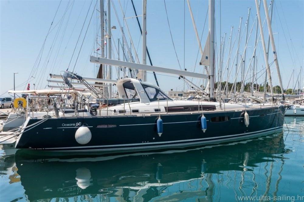 Bénéteau Oceanis 60 between personal and professional Split