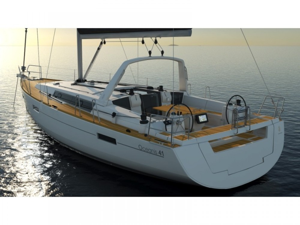 Rental yacht ACI Marina Split - Bénéteau Oceanis 41.1 on SamBoat