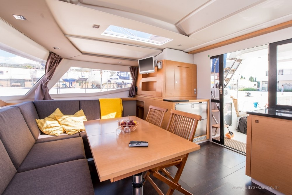Fountaine Pajot Helia 44 between personal and professional Donji Seget