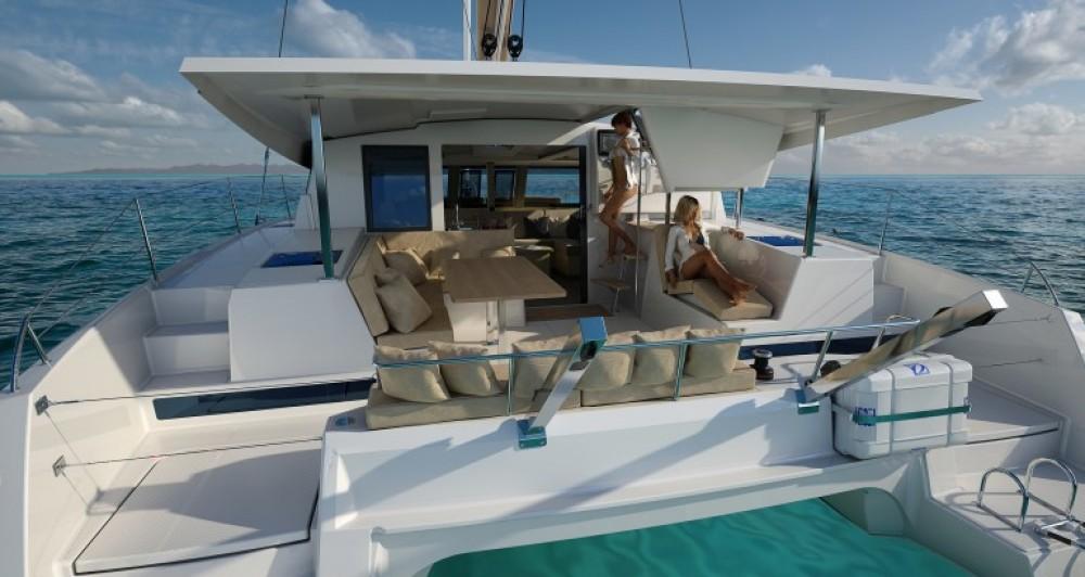 Rental Catamaran in Donji Seget - Fountaine Pajot Lucia 40