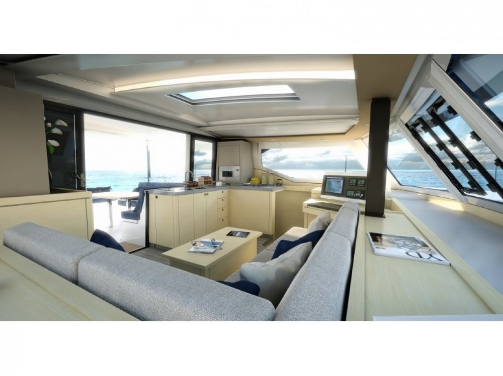 Boat rental Fountaine Pajot Lucia 40 in Donji Seget on Samboat