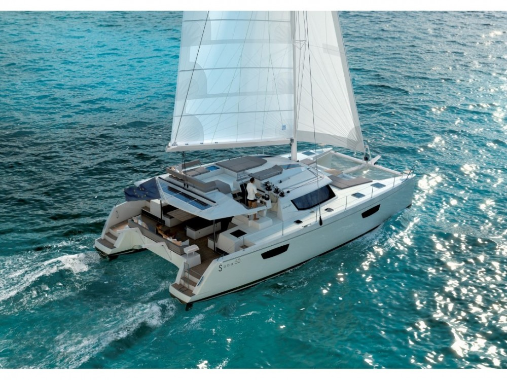Rental Catamaran in Donji Seget - Fountaine Pajot Saba 50