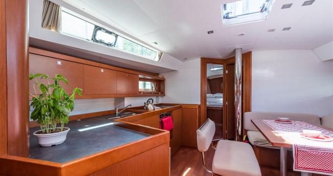 Boat rental Dubrovnik cheap Oceanis 45