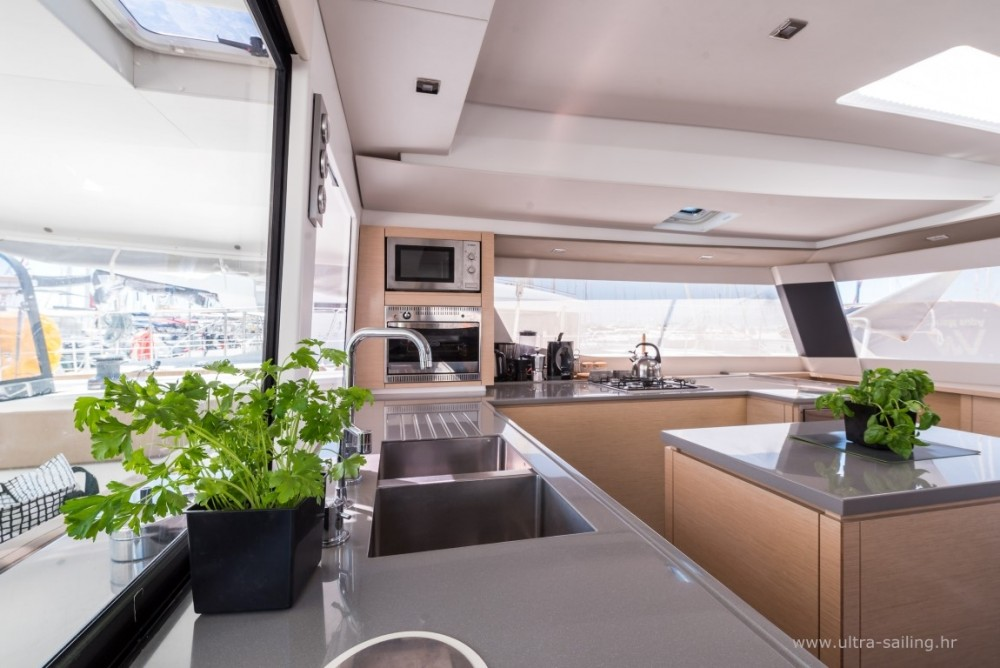 Fountaine Pajot Saba 50 between personal and professional Donji Seget