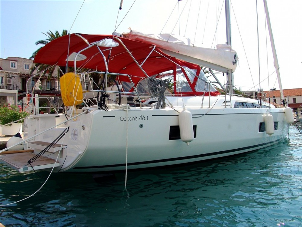 Bénéteau Oceanis 46.1 between personal and professional ACI Marina Split